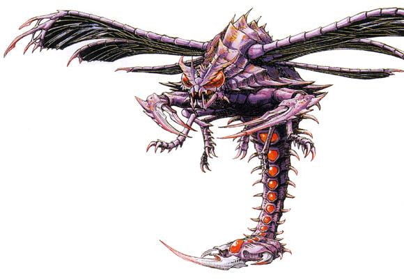 File:Concept Art - Godzilla vs. Megaguirus - Megaguirus 4.png