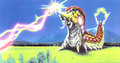 Concept Art - Godzilla vs. Mothra - Battra Larva Beams 1