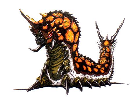 File:Concept Art - Godzilla vs. Mothra - Battra Larva 9.png