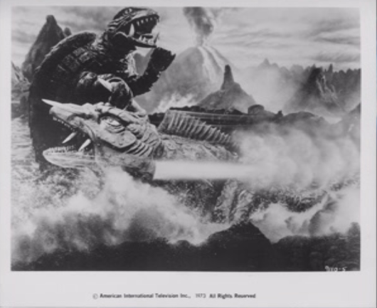 File:Gamera - 5 - vs Jiger - 99999 - 12 - Gamera Grabbed Jiger.png