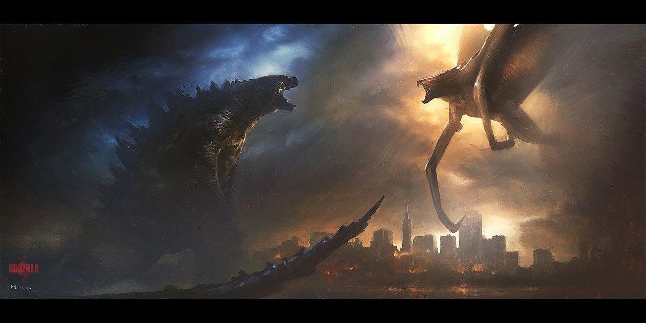 Godzilla vs fire muto