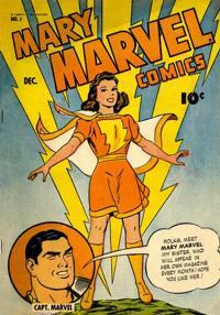 200px-Mary Marvel Vol 1 1