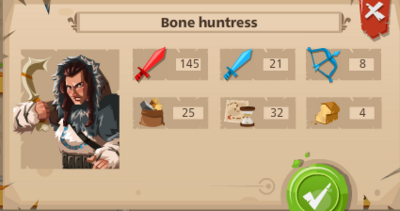 Bone huntress