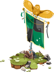 Deco War Banner