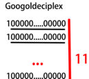 Googoldeciplex