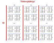 Tetra-eptaksys