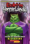 Escape From HorrorLand - Spanish Cover