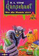 Diary of a Mad Mummy - German Cover - Wer die Mumie stört