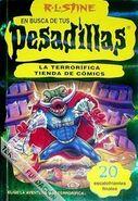 La terrorífica tienda de comics