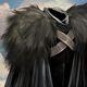 Benjen Black Cloak