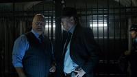 Nathaniel Barnes talks with Harvey Bullock