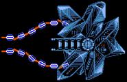 Crystal Core Gradius II NES