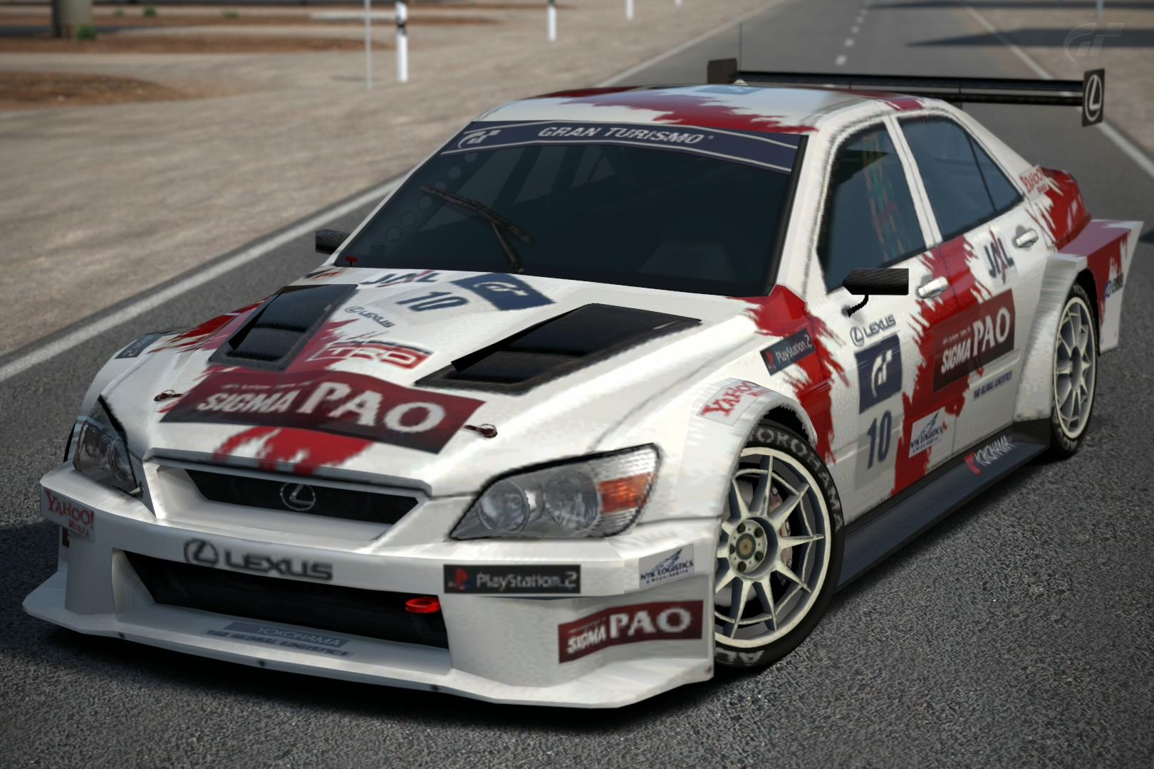 lexus is 200 gt 1 race car 39 04 gran turismo wiki fandom powered by wikia. Black Bedroom Furniture Sets. Home Design Ideas