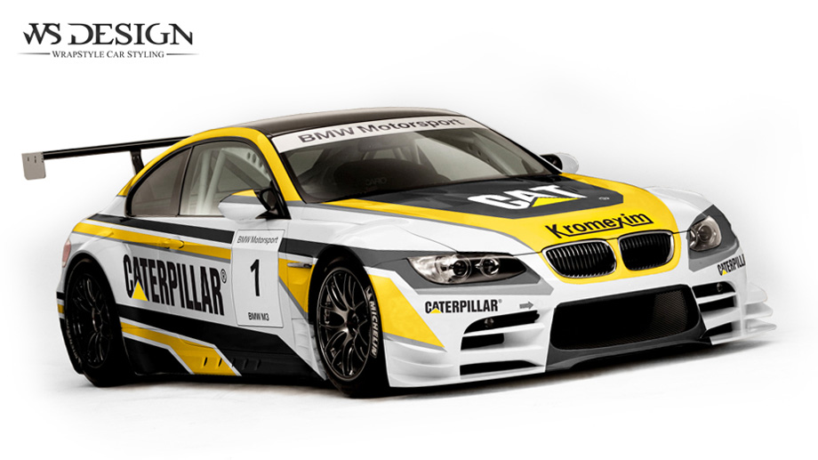 Image bmw caterpillar m3 gt2 39 gran turismo wiki for Race car graphic design templates