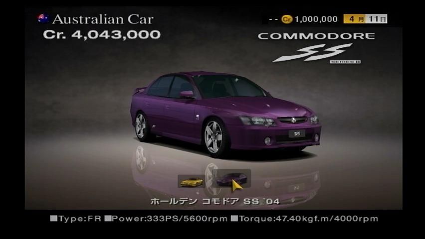 Holden Commodore Ss 04 Gran Turismo Wiki Fandom