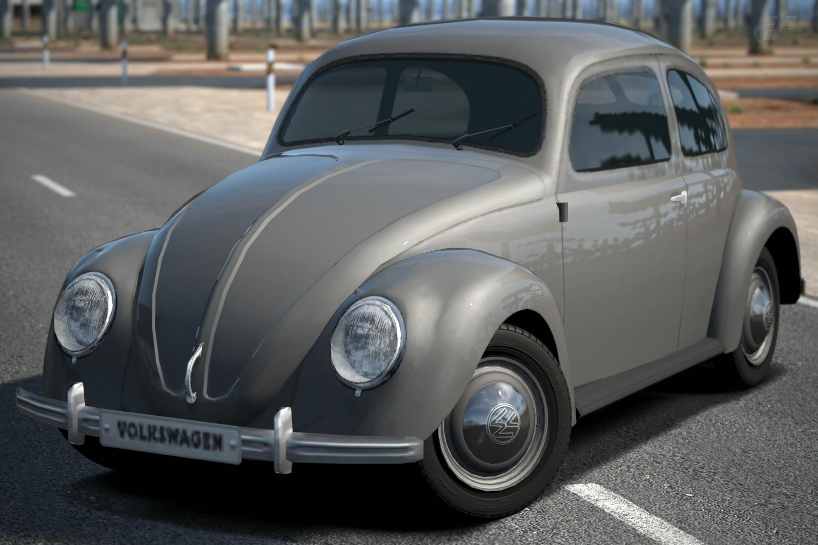 Volkswagen Beetle 1100 Standard (Type-11) '49 | Gran ...