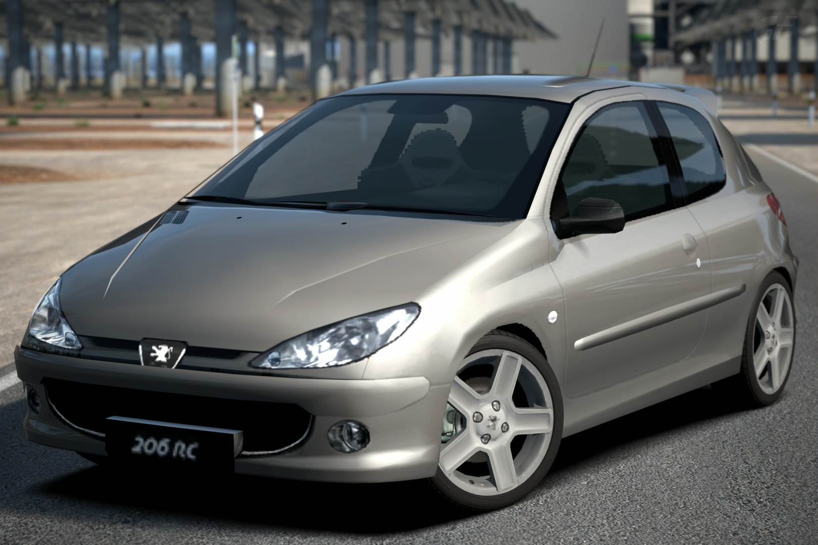 peugeot 206 rc 39 03 gran turismo wiki fandom powered by wikia. Black Bedroom Furniture Sets. Home Design Ideas
