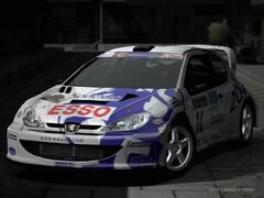 Peugeot 206 Rally Car '99