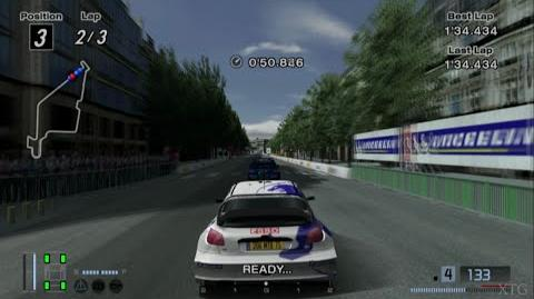 Gran Turismo 4 - Peugeot 206 Rally Car '99 PS2 Gameplay HD