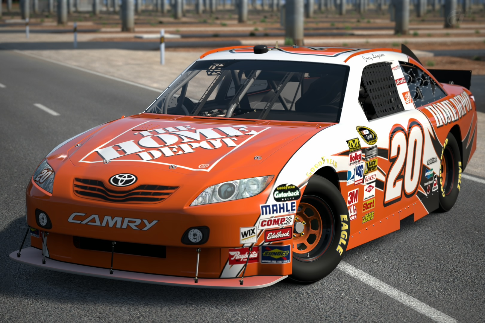 2010 joey logano 20 the home depot toyota camry 39 10 gran turismo wiki fandom powered by wikia. Black Bedroom Furniture Sets. Home Design Ideas