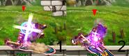Prime Knight Hawk Dive Backstep rage