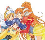 Grandia II Girls
