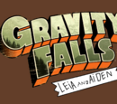 Gravity Falls with Leia and Aiden