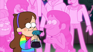 S2e9 mabel handing over bottle