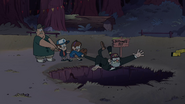 S1e14 getting pulled into bottomless pit