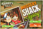 Game mystery shack mystery start menu