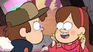 S1e1 mabel putting on star earrings