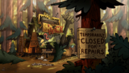 S2e13 mystery shack closed for repairs