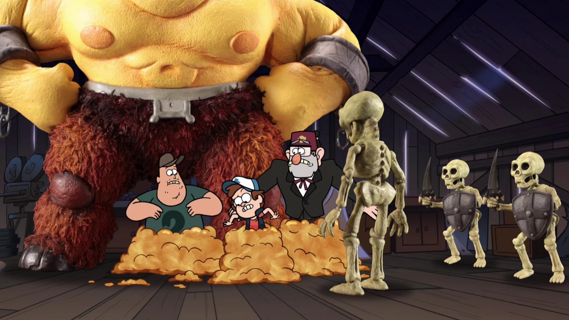 Clay Monsters Gravity Falls Wiki Fandom Powered By Wikia