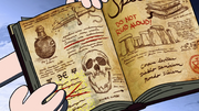 S2e1 it says don't read aloud dipper