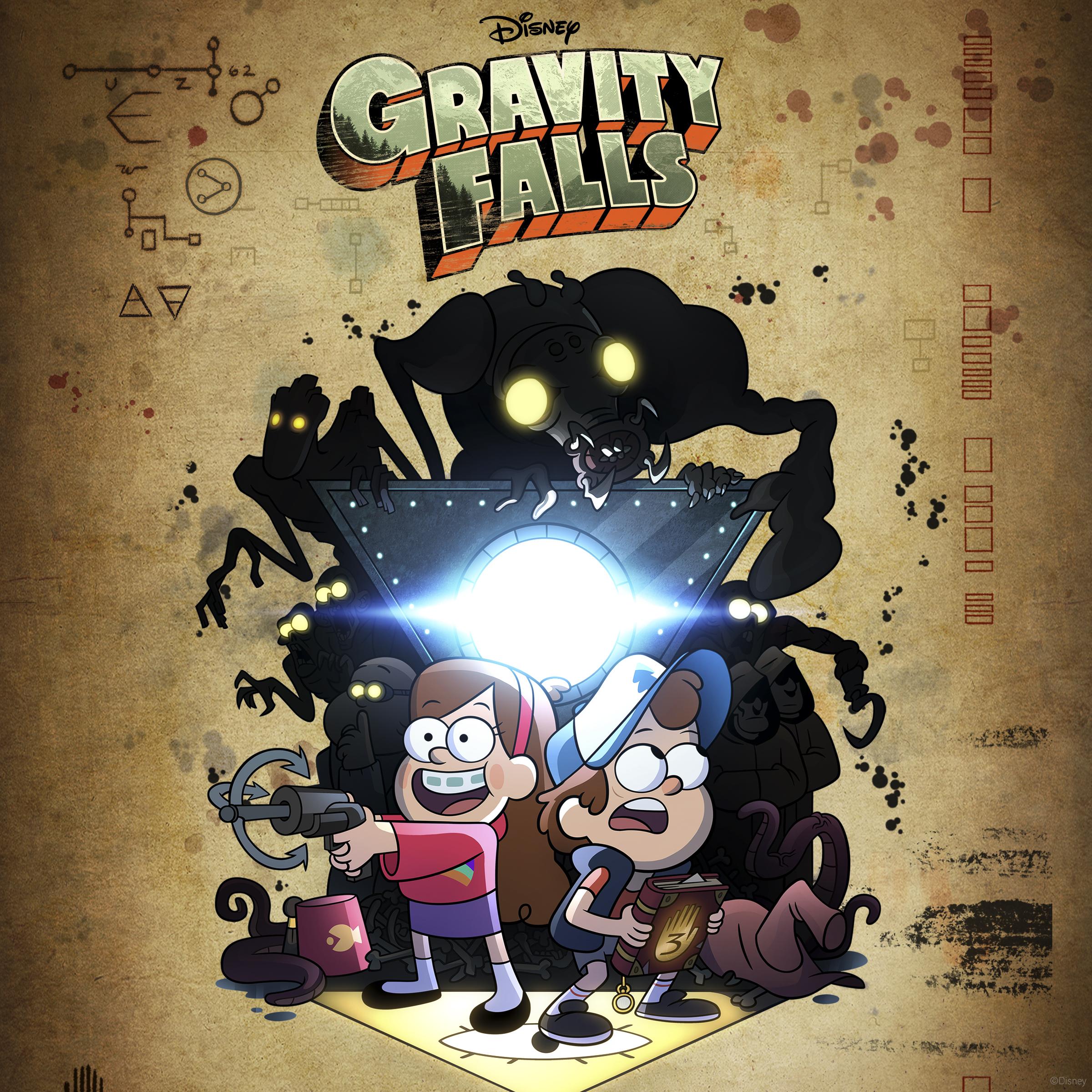 Gravity Falls Vol 3 Di...