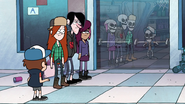 S1e5 dipper and wendy skeletons