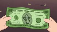S1e8 -12 dollar bill