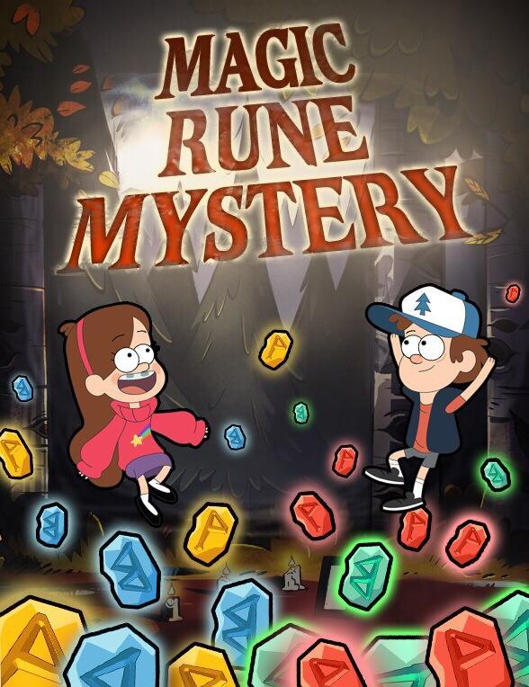 Magic Rune Mystery Gravity Falls Wiki Fandom Powered