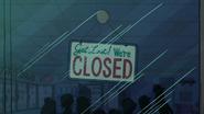 S1e5 closed sign