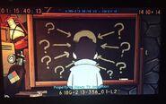 S2e12 mystery chalkboard