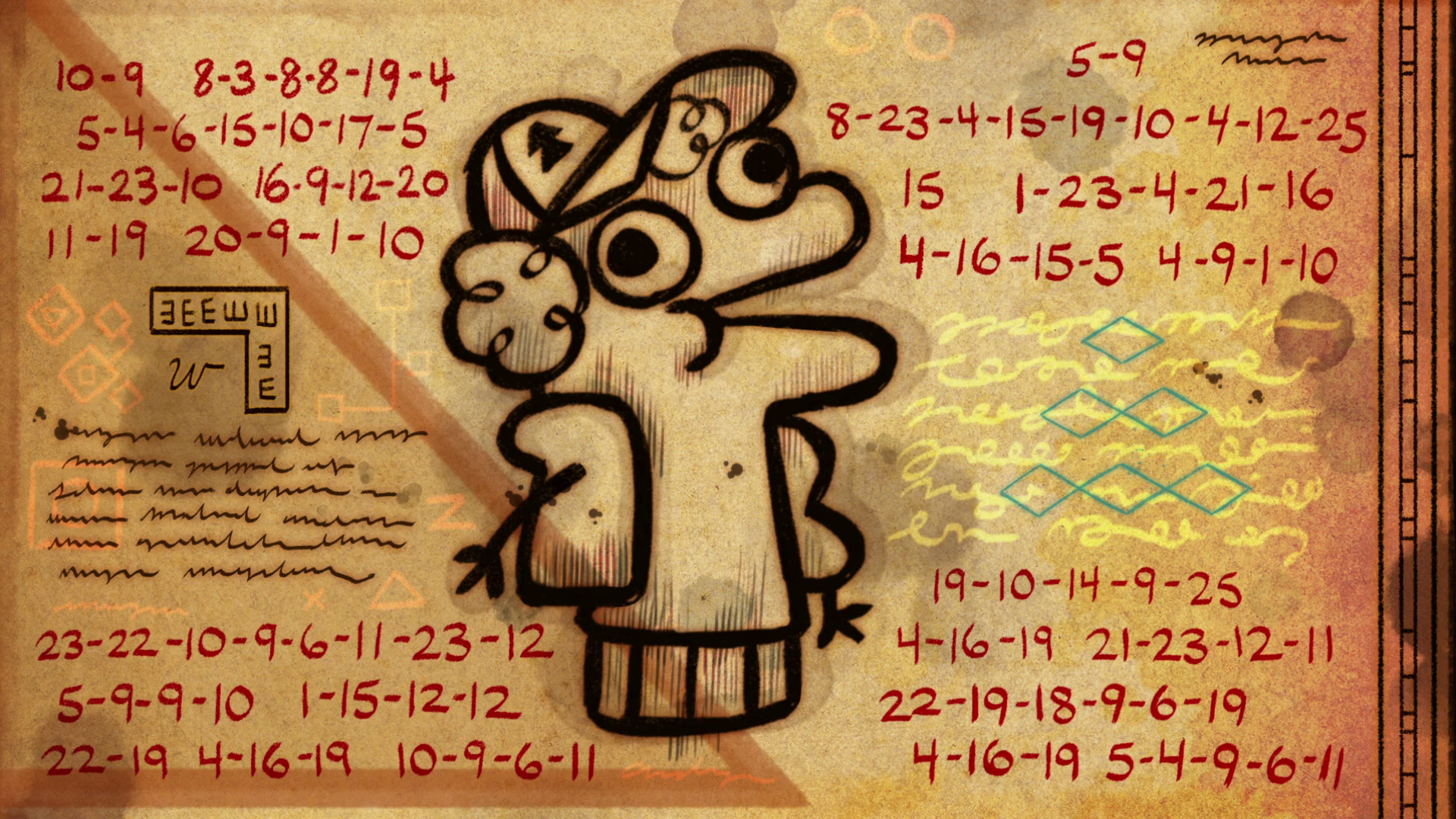 「gravity falls cryptograms」の画像検索結果