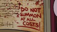 S1e19 Don't summon Bill