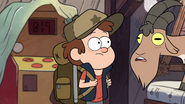 S1e1 dipper and goat