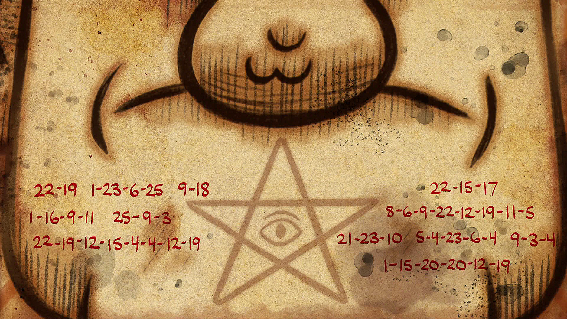 "「gravity falls end of credits The Stanchurian Candidate""」の画像検索結果"