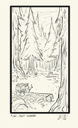 S1e6 forest clearing inked