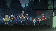 S1e5 behind fence