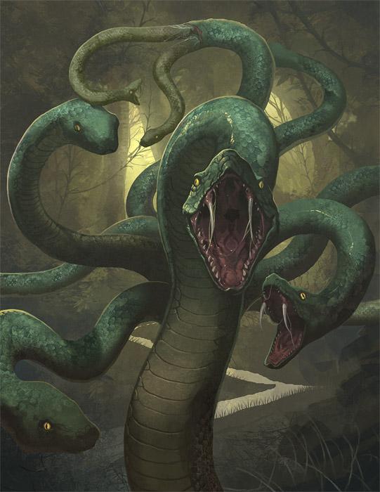 hydra in greek mythology facts - Google Search | Nod | Pinterest ...