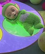 Green It's Bedtime Daa-Daa