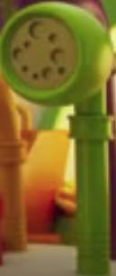 Green Voice Trumpet