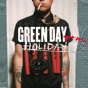 Green Day Nimrod Album Cover